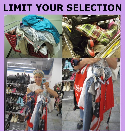 how to save money thrift store shopping