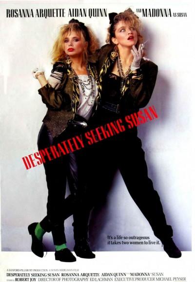 madonna desperately seeking susan movie poster