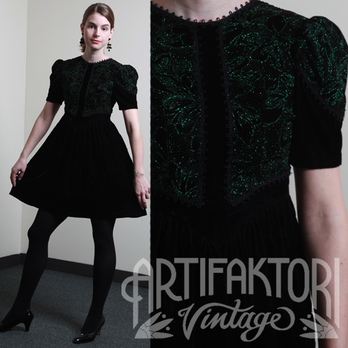 vintage holiday dress market publique