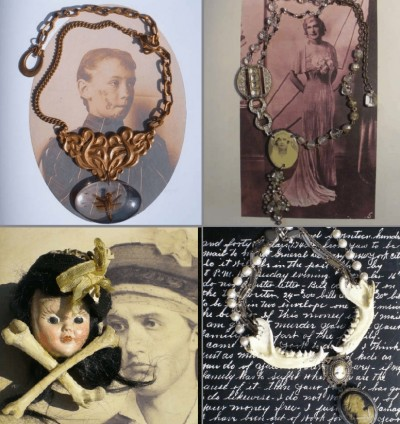 purevile jewelry steampunk and vintage victorian influences