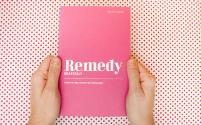 picture of remedy quarterly cooking and essay magazine