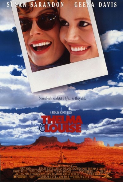 thelma and louise vintage movie poster