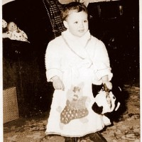 Vintage Christmas Morning Pictures!