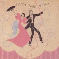 vintage new years