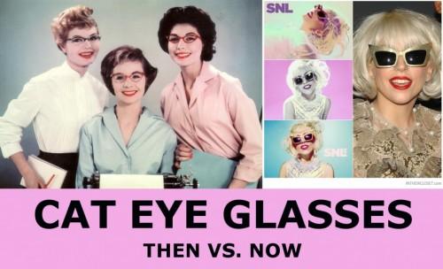 1960s cat eye glasses
