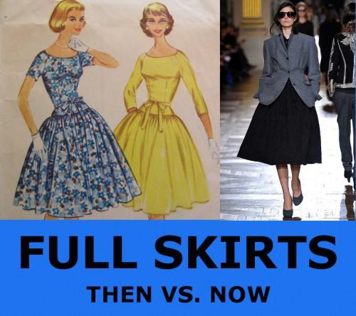 1960s full skirts