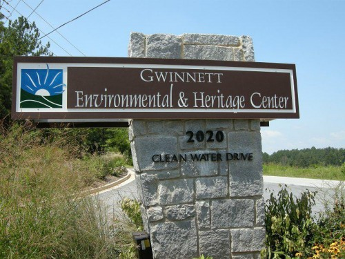 environmental center sign