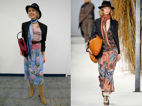 Thrift Shopping Boho Chic: How to Match a Runway Style