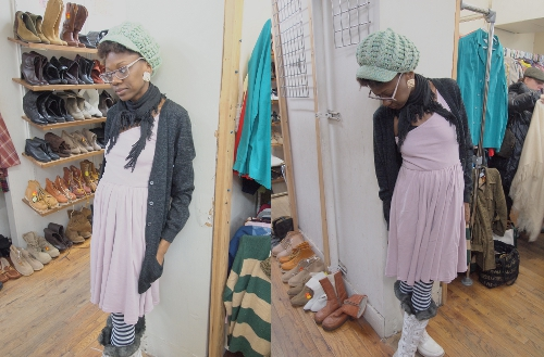 womens vintage style outfit