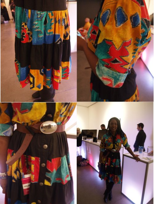 vintage fashion at independent fashion bloggers conference