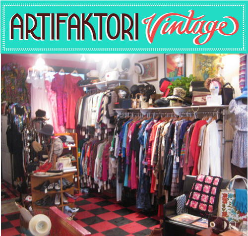 artifaktori vintage boutique in boston