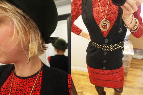 vintage fashion style outfit