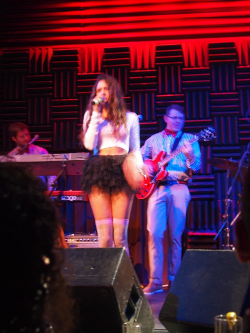 eliza dolittle performing at joes pub in nyc