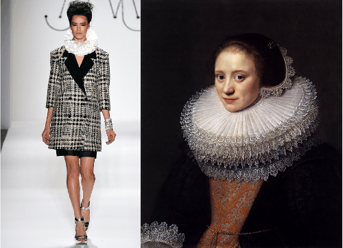 fashion week vintage style inspiration picture