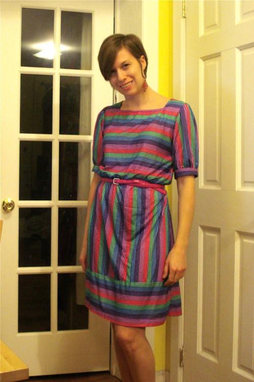 women's vintage dress picture