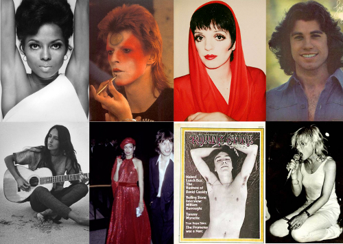 1970s Celebrity Vintage Style Icons Influences On 2011 Fashion Part 1