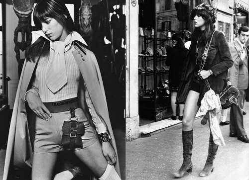 Jane Birkin 70s Icon Vintage Fashion
