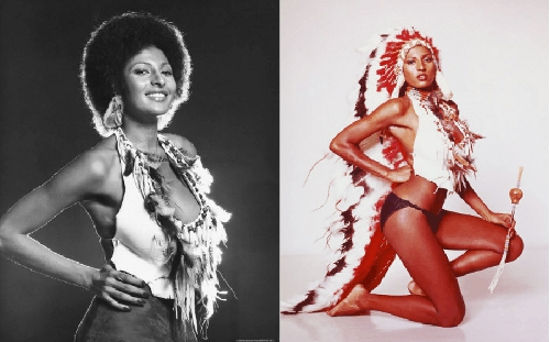 1970s celebrity icon pam grier