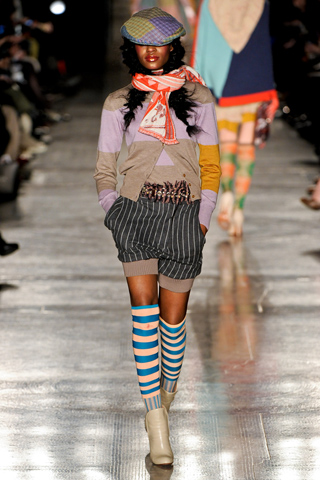 How to Mix Stripes in One Outfit