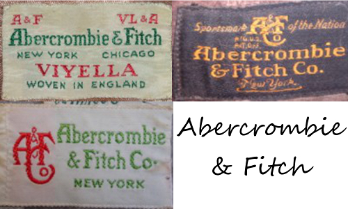 Vintage Tag History: Levi's, Banana Republic, Betsey Johnson, Abercrombie & Fitch and More