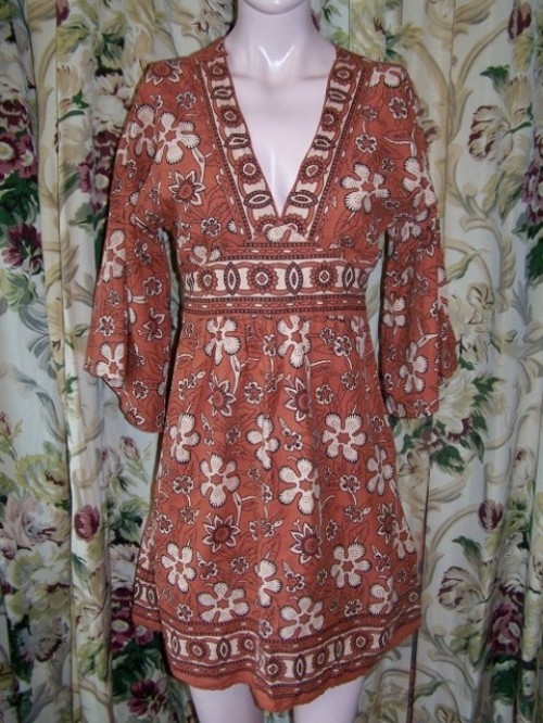 vintage womens country dress