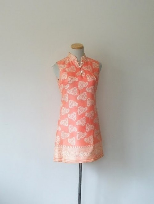 vintage womens shift dress