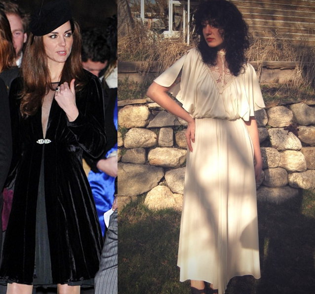 8 Vintage Kate Middleton Wedding Dress Lookalikes