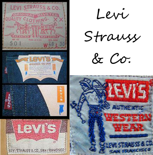 levi strauss and co vintage tags