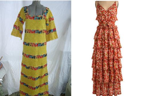 vintage maxi dresses