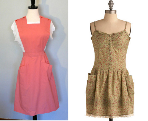 vintage pinafore dresses