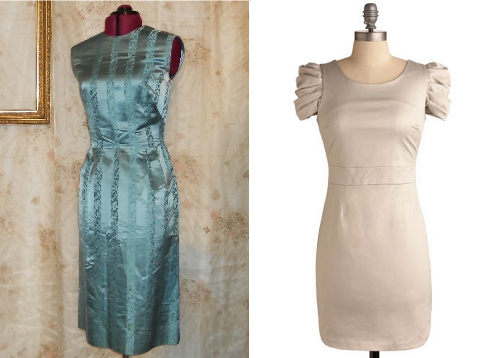 vintage sheath dresses