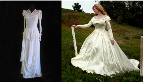 1930s Wedding Gowns: 1920s-1980s: How To Identify The Era Of A Vintage Wedding
