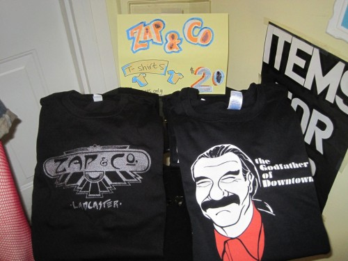 zap and co fundraiser t shirts