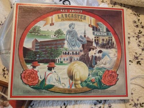 vintage lancaster pa boardgame