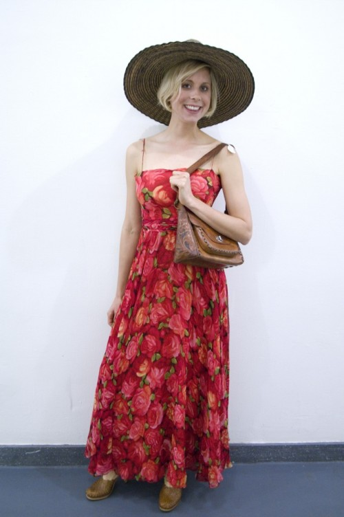 1970s maxi dress manhattan vintage show