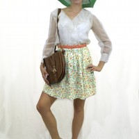 Styling Vintage with Modern Pieces (H&M)