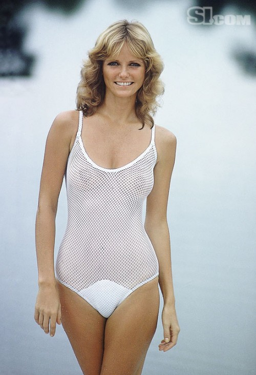 cheryl tiegs 1970s vintage swim suit