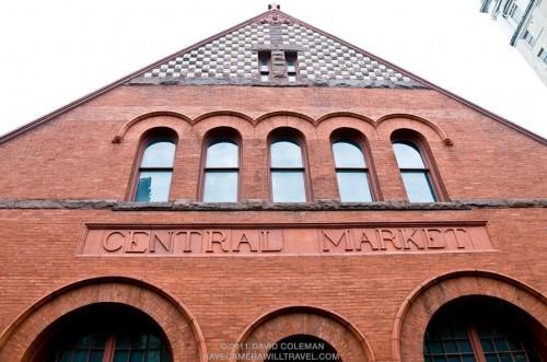 downtown lancaster central market building