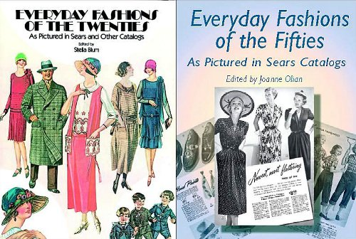 everyday fashion sears series vintage fashion book