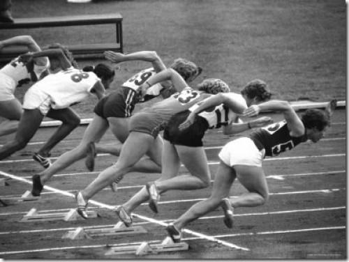 vintage women track runers