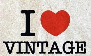 i love vintage fashion sticker