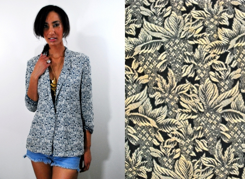 indie style society vintage fashion giveaway blazer