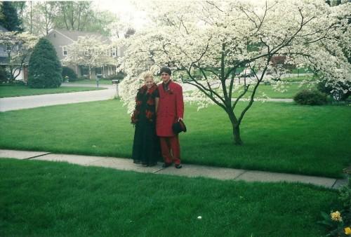 sammy davis vintage wearing zap and co dress