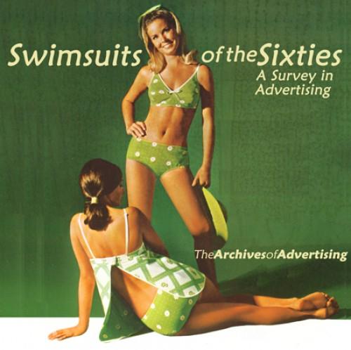 vintage 1960s polka dot bikini swimsuit