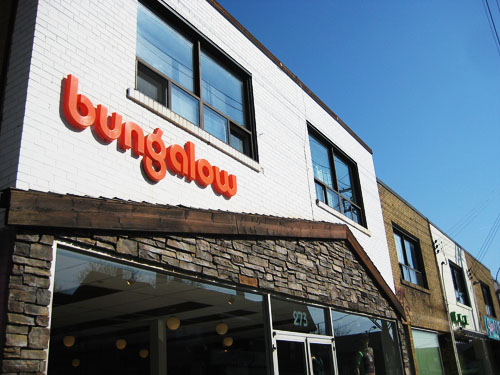 bungalow vintage boutique canada