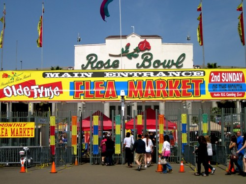 pasadena rose bowl flea market