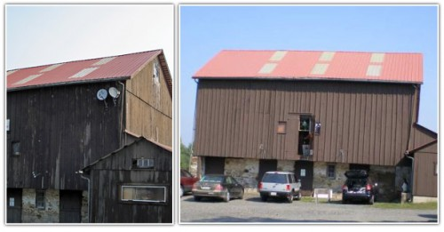 rices market Pennsylvania barn