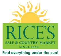 rices flea market logo