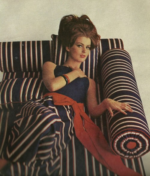 vintage fashion stripes mccalls magazine 1960s