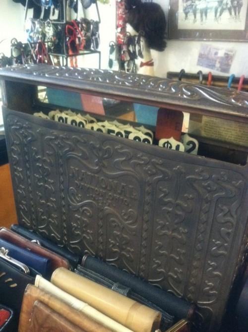 antique cash register guvnor's vintage and thrift
